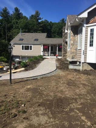 Landscaping Project Billerica 1